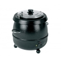 Birko Soup Kettle Black 9L 1030601
