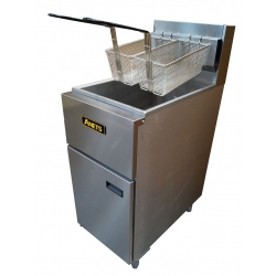 Anets SLG40 Gas Single Pan Deep Fryer 20Litre