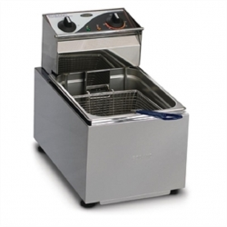 Roband F18 Electric Benchtop Single Pan Deep Fryer - 8ltr