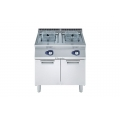 ELECTROLUX E7FRGH2GF0 15L + 15L Model Freestanding Open Pot Gas Fryers
