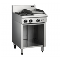 COBRA C6C 2 OPEN BURNERS & 300 GRIDDLE ON BASE