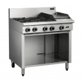 COBRA C9C 4 OPEN BURNERS & 300 GRIDDLE ON BASE
