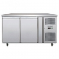 Bromic UBC1360SD 2 door undercounter s/steel chiller (solid dr)